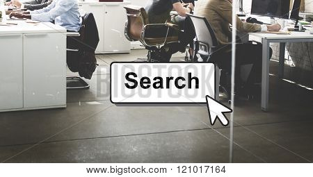 Search Searching Finding Looking Optimisation Concept