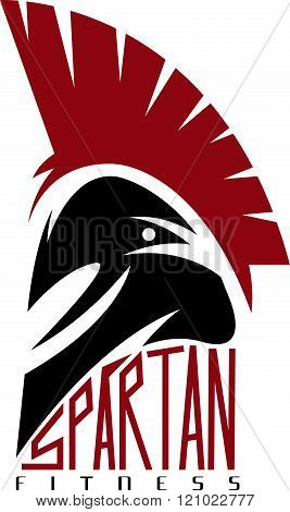Spartan Fitness Vector Design Template . Concept Of Graphic Clipart Work