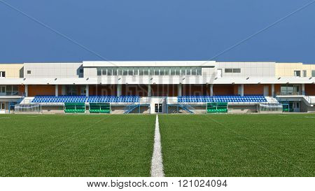 Moscow, Russia: Rugby Field