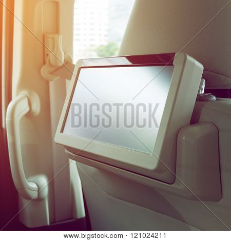 Small Tv Led Audio Interior In Car