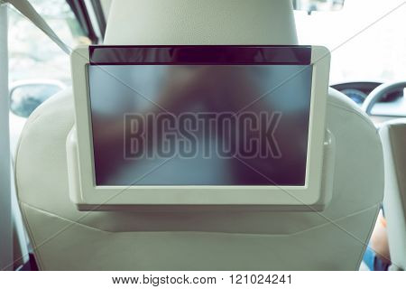 Small Tv Led Audio Interior In Car