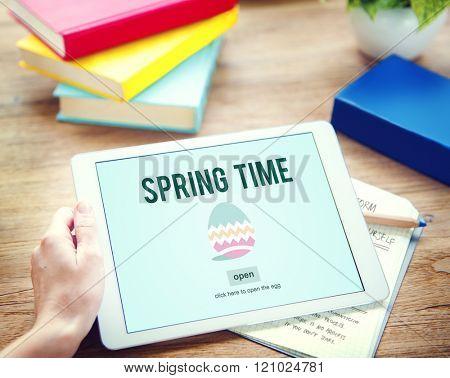 Spring Time Seasonal Bloom Freshness Concept