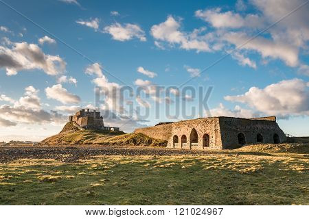 Lindisfarne Castle And Lime Kiln