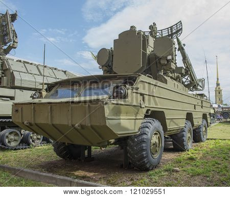 9A33- Fighting Vehicle (9M33 Missiles) Anti-aircraft Missile Complex 9K33
