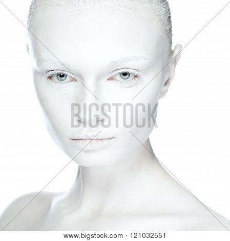 beautiful girl fashion portrait