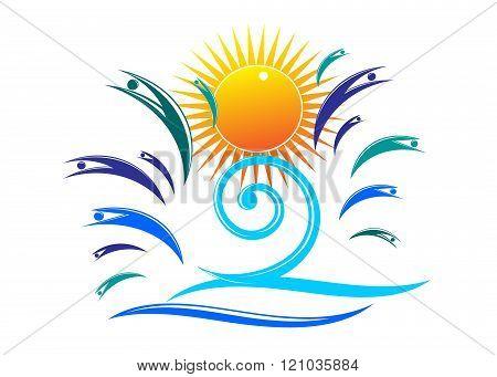 logo summer.