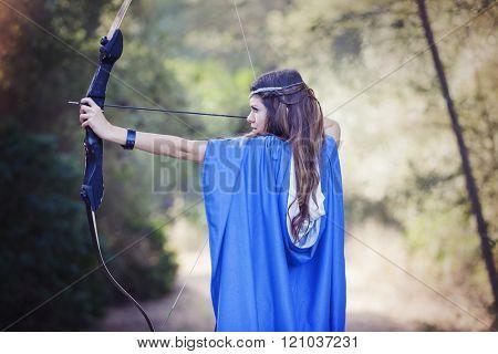 mystery fairy tale woman