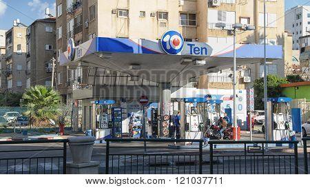 Ten Gasoline Station