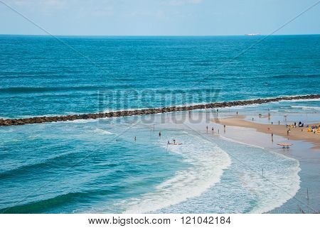 Beach in Netanya