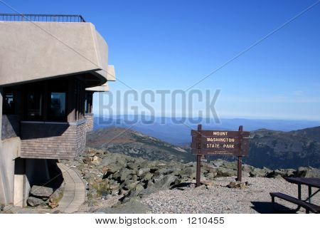 Mount Washington Peak - New Hampshire