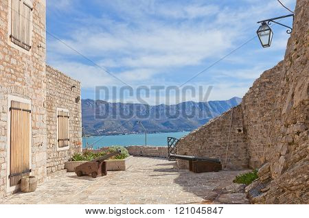 Citadel In Old Town Of Budva, Montenegro