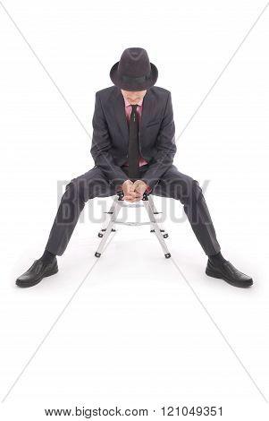 Boy In Black Suit