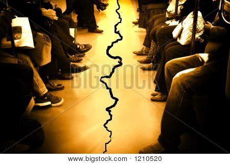 Path Broken Between People
