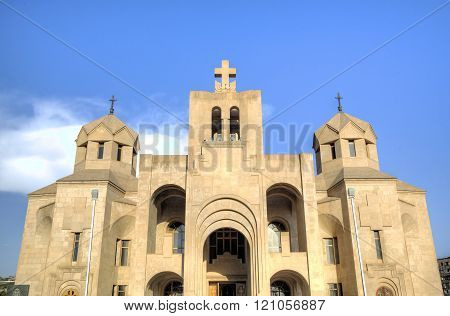 Saint Gregory the Illuminator Cathedral. Yerevan, Armenia