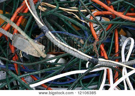 utiliza cableado de cobre