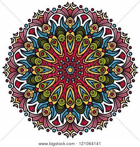 Beautiful Mandala Hindu symbol