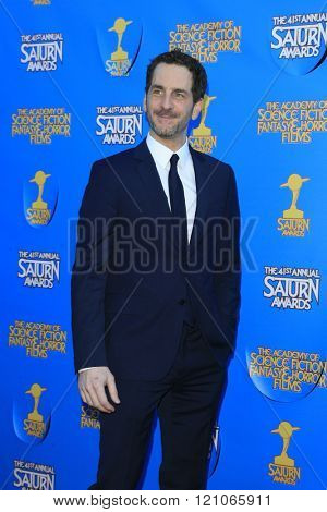 BURBANK - JUN 25: Aaron Abrams at the 41st Annual Saturn Awards at The Castaway on June 25, 2015 in Burbank, California,