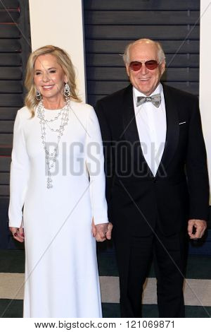 LOS ANGELES - MAR 3:  Jane Slagsvol, Jimmy Buffett at the Bosch Season 2 Premiere Screening at the Silver Screen Theater at the Pacific Design Center on March 3, 2016 in West Hollywood, CA