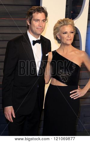 LOS ANGELES - MAR 3:  Douglas Brunt, Megyn Kelly at the Bosch Season 2 Premiere Screening at the Silver Screen Theater at the Pacific Design Center on March 3, 2016 in West Hollywood, CA