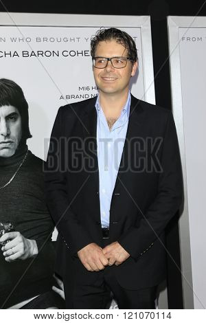 LOS ANGELES - MAR 3:  Phil Johnston at the The Brothers Grimsby Premiere at the Regency Village Theater on March 3, 2016 in Westwood, CA