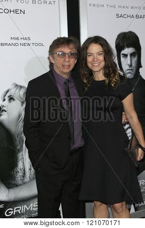 LOS ANGELES - MAR 3:  Peter Baynham at the The Brothers Grimsby Premiere at the Regency Village Theater on March 3, 2016 in Westwood, CA