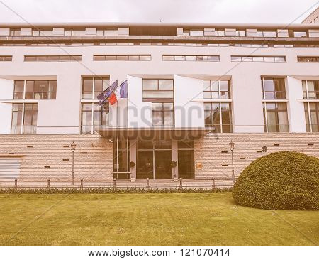 French Embassy In Berlin Vintage