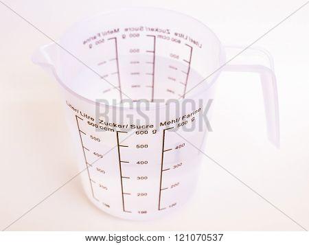 Measuring Cup Vintage