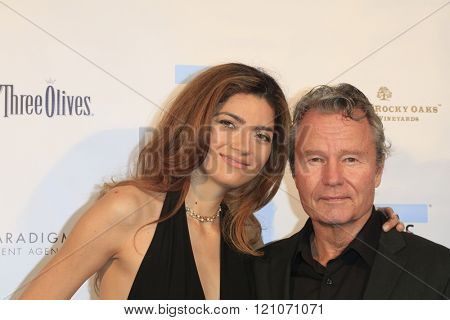 LOS ANGELES - MAR 5:  Blanca Blanco, John Savage at the Children International Charity's Share The Love Around The World Fundraiser at the Rocky Oaks Malibu on March 5, 2016 in Malibu, CA