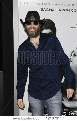 LOS ANGELES - MAR 3: Wheeler Walker Jr at the Premiere of 'The Brothers Grimsby' at the Regency Village Theater on March 3, 2016 in Los Angeles, California