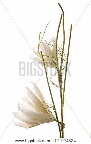 Artificial gardenia flower