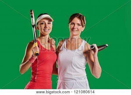 sportswomen tennis players