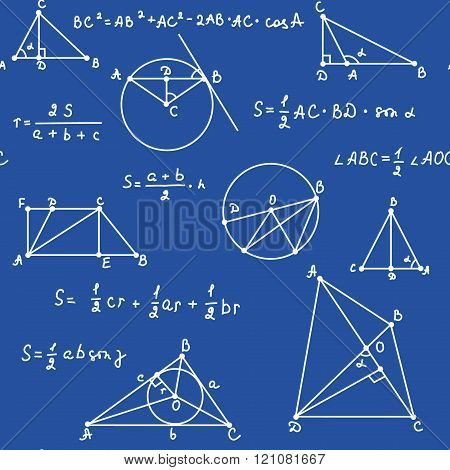 the pattern of equations and graphs in geometry