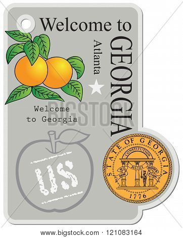 Label The State Of Georgia