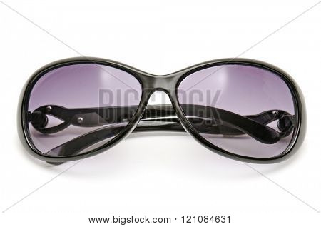 sun glasses isolated on white