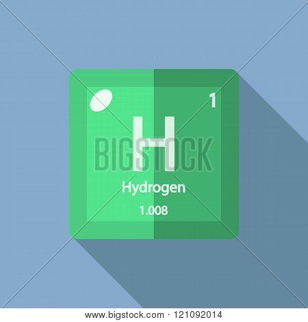 Chemical element Hydrogen Flat
