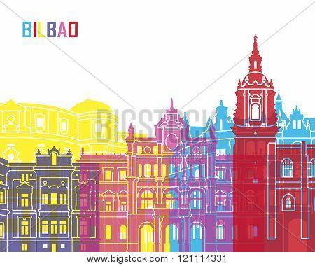 Bilbao Skyline Pop
