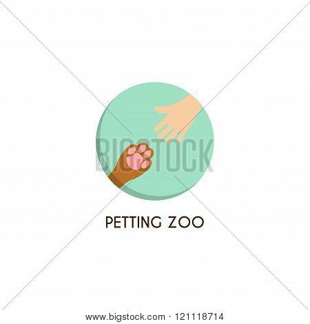 Petting Zoo Logo Template