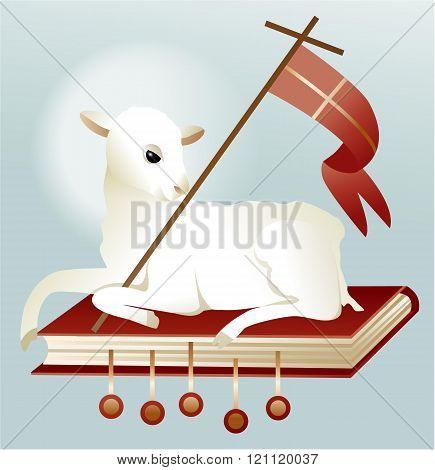 Easter lamb of God