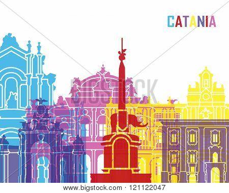Catania Skyline Pop
