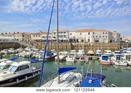 Marina of Saint Martin de Ré (La Rochelle, France)