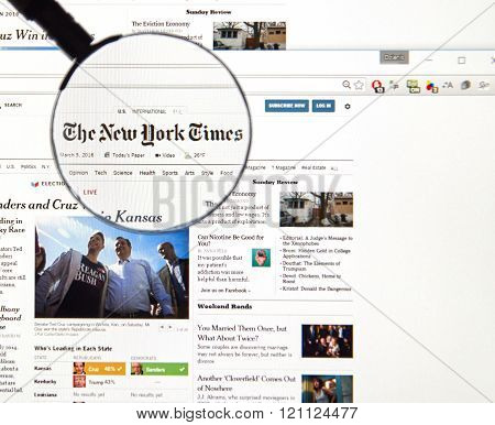 The New York Times On The Web.
