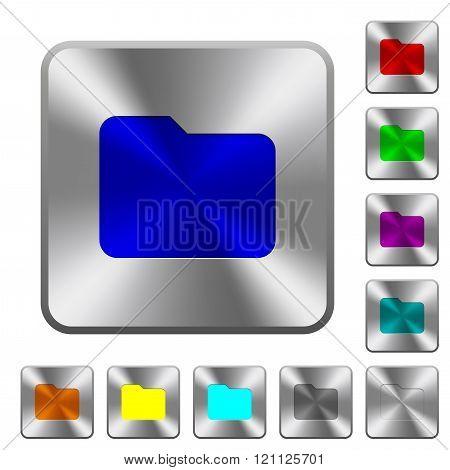 Steel Folder Buttons