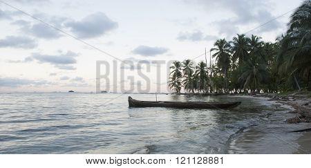 Island, San Blas, Kuna Yala. Panama.