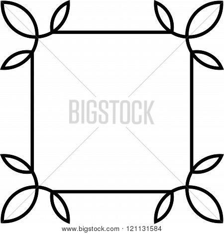 Vector Square Frame