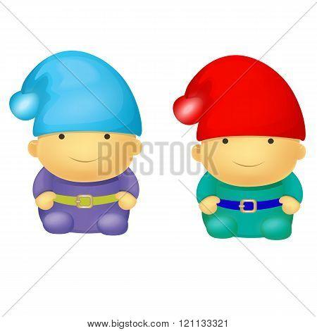 Two Cute Small Dwarf