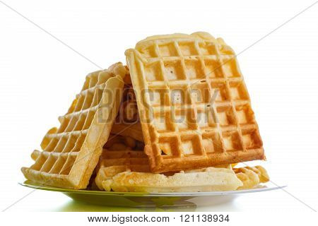 Viennese sweet waffles