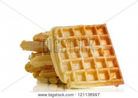 Viennese sweet waffles