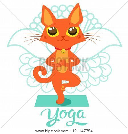 Cartoon Funny Cat Icons Doing Yoga Position. Yoga Cat Pose. Yoga Cat Vector. Yoga Cat Meme. Yoga Cat Images. Yoga Cat Figurine. Cat As Toy. Yoga Cat Statue. Yoga Cat Balance And Meditation.