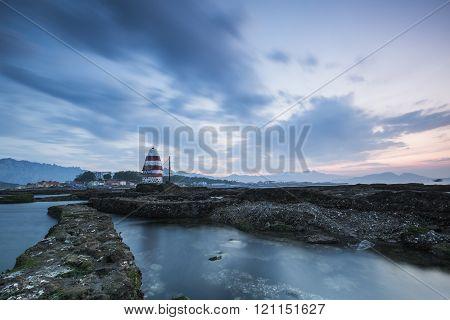 Qingdao folk lighthouse