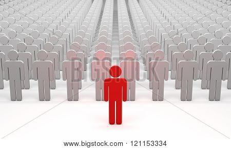 Big Boss (symbolic Figures Of People).